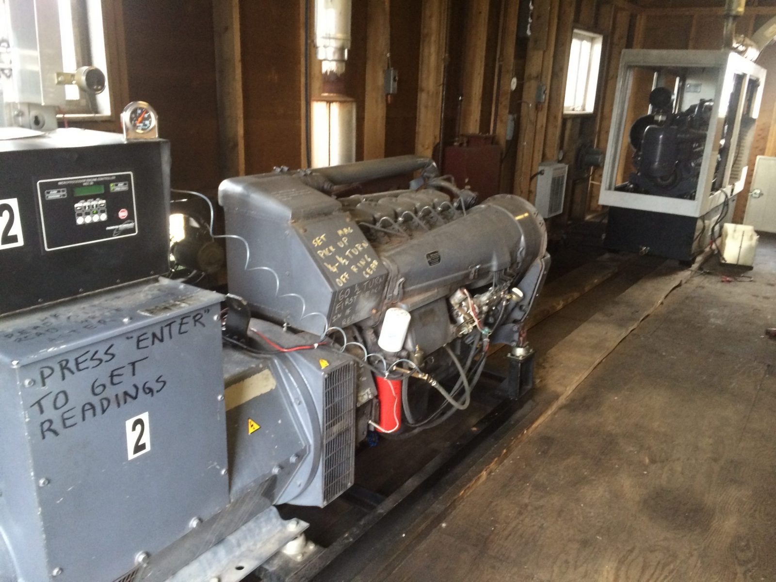 Two Generators For Power