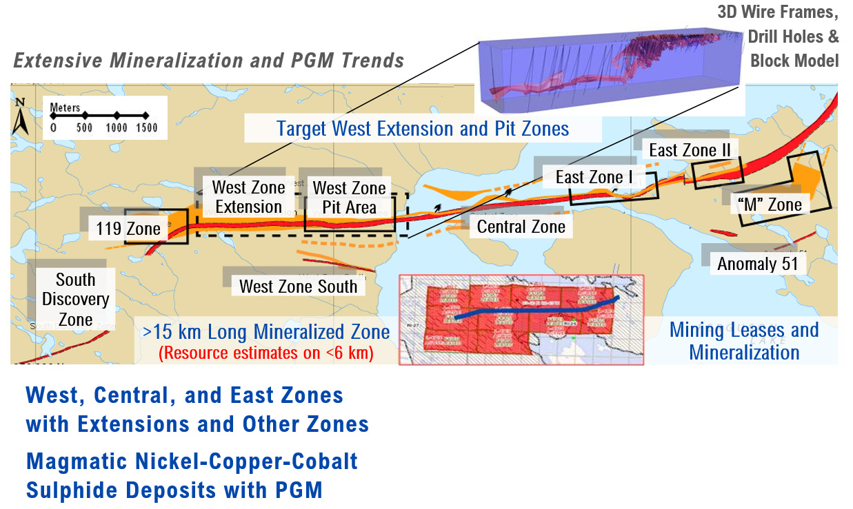 Extensive Mineralization And PGM Trends