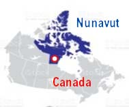 Nunavut Map