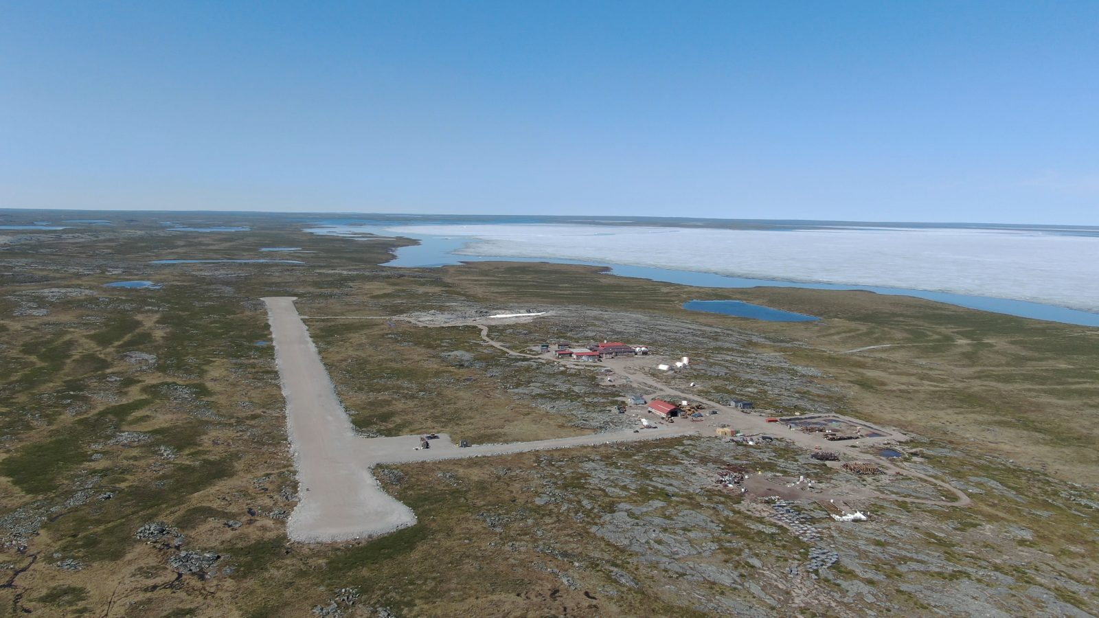 Ferguson Lake Project Airstrip